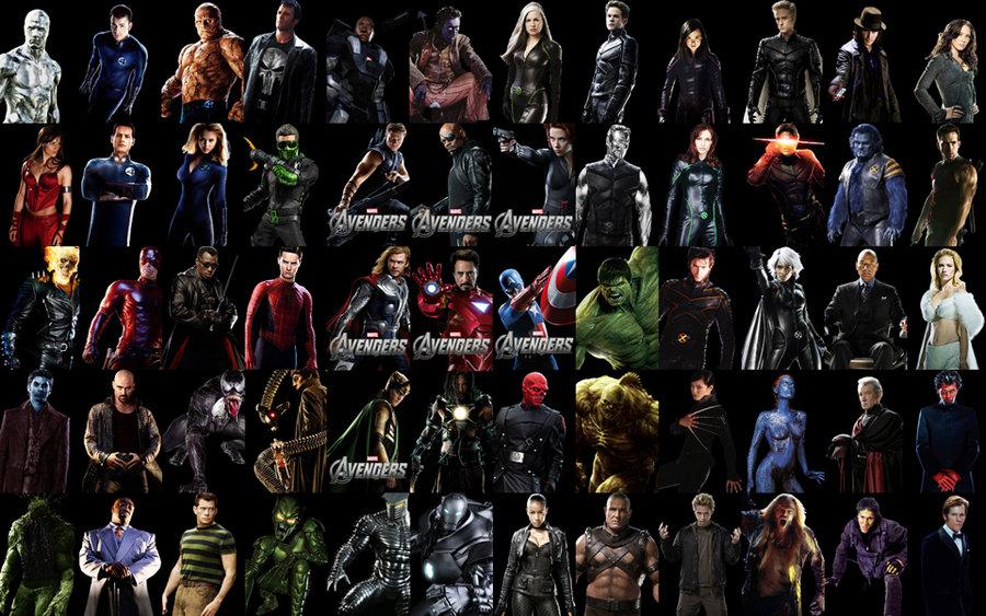 marvel film heroes