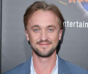 "Universal Studios Hollywood Hosts The Opening Of ""The Wizarding World Of Harry Potter""  Featuring: Tom Felton Where: Universal City, California, United States When: 05 Apr 2016 Credit: FayesVision/WENN.com"